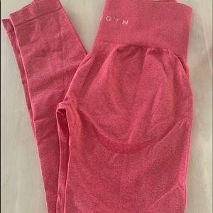 NVGTN size medium pink leggings